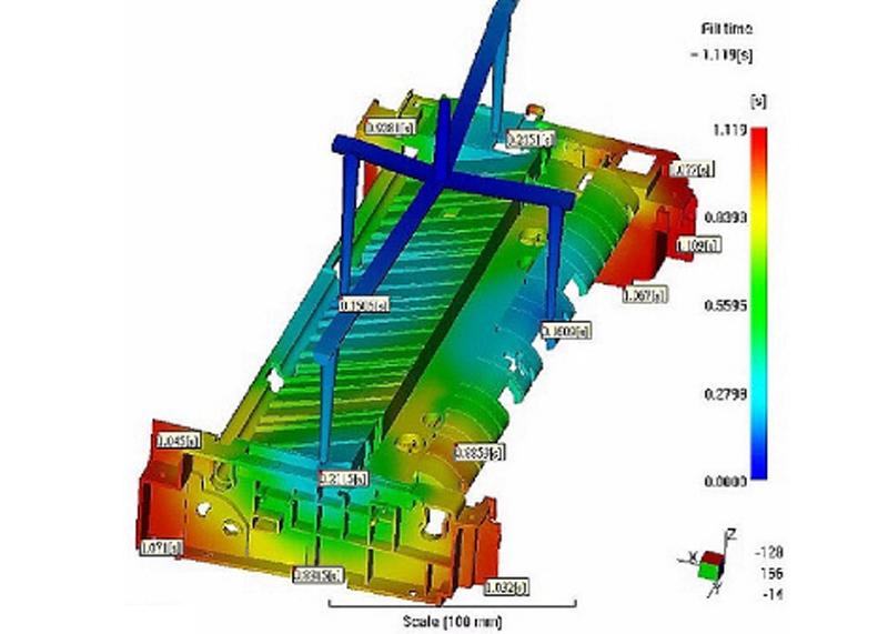 注塑模具加工厂模流分析