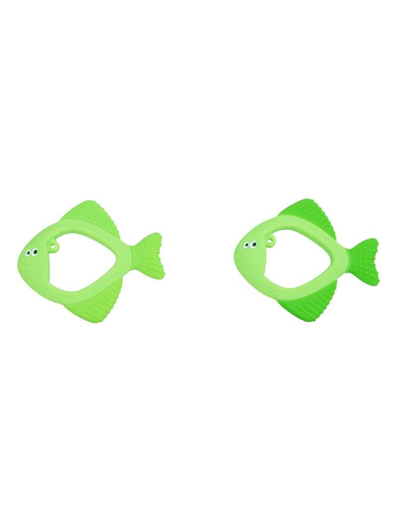 液态硅胶-碧绿小仙鱼牙胶