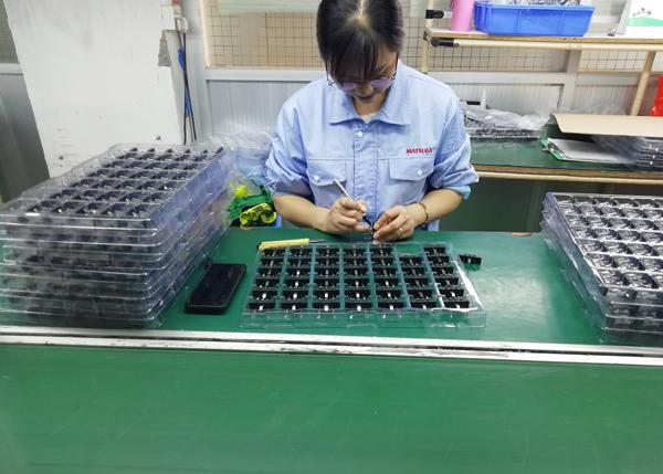 东莞市马驰科美容仪器厂家产品OQC检测