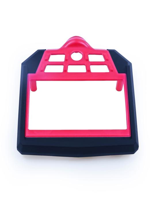 双色注塑-显示器面盖双色注塑件