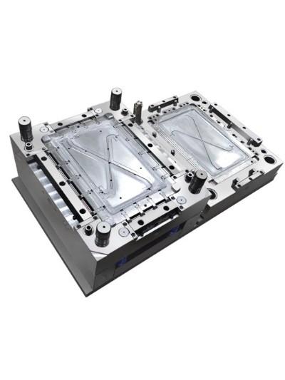 注塑模具-电池侧盖注塑模具