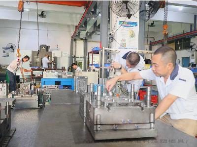 东莞市马驰科立式包胶注塑模具加工V2