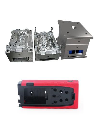 双色模具-电源插板外壳双色模具