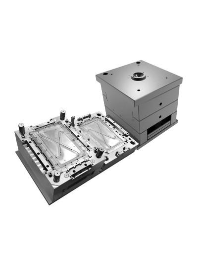 双色模具-电池盒双色模具