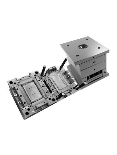 双色模具-电脑显示框双色模具