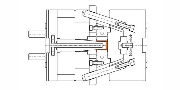 注塑模具斜销滑块式抽芯机构损坏怎么破解?