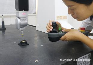 东莞市马驰科包胶注塑产品三次元测量