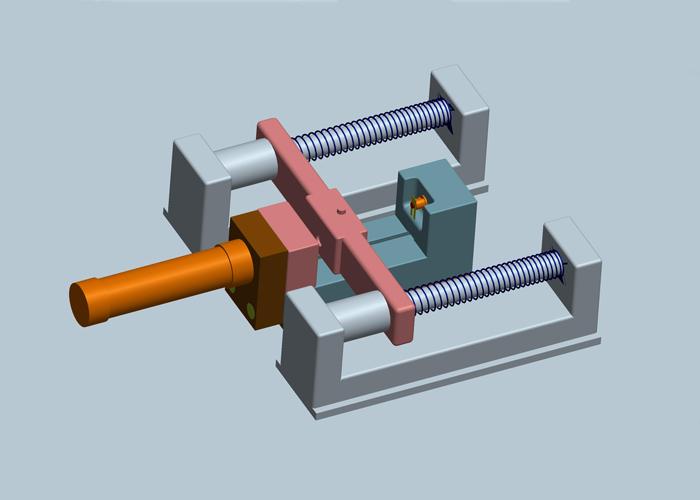 注塑制品厂自动热压机