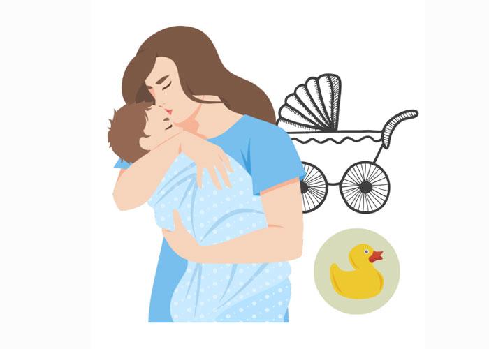 母婴用品设计加工厂-哺乳期妈妈