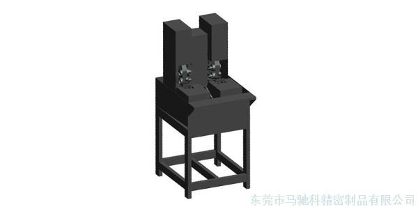 双色注塑模具制造厂自主研发双头研磨机,产能创新高