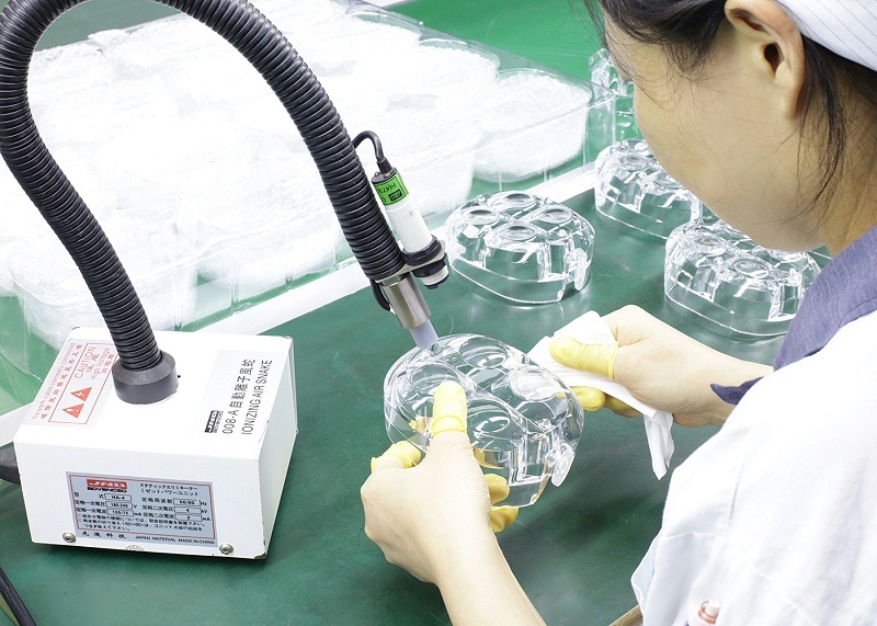 注塑产品加工检测