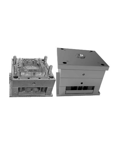 包胶模具-小家电转动叶板金属包胶
