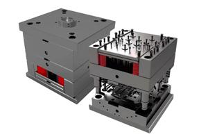 包胶模具-美容仪器包胶模具