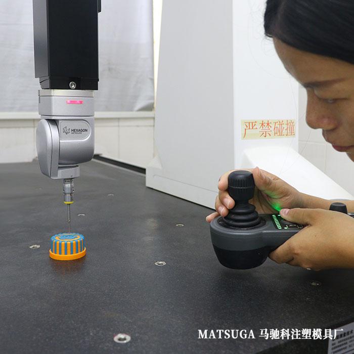 东莞市马驰科注塑模具厂三次元测量