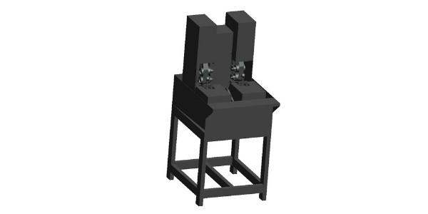 双色注塑加工厂自主研发双头研磨机,产能创新高