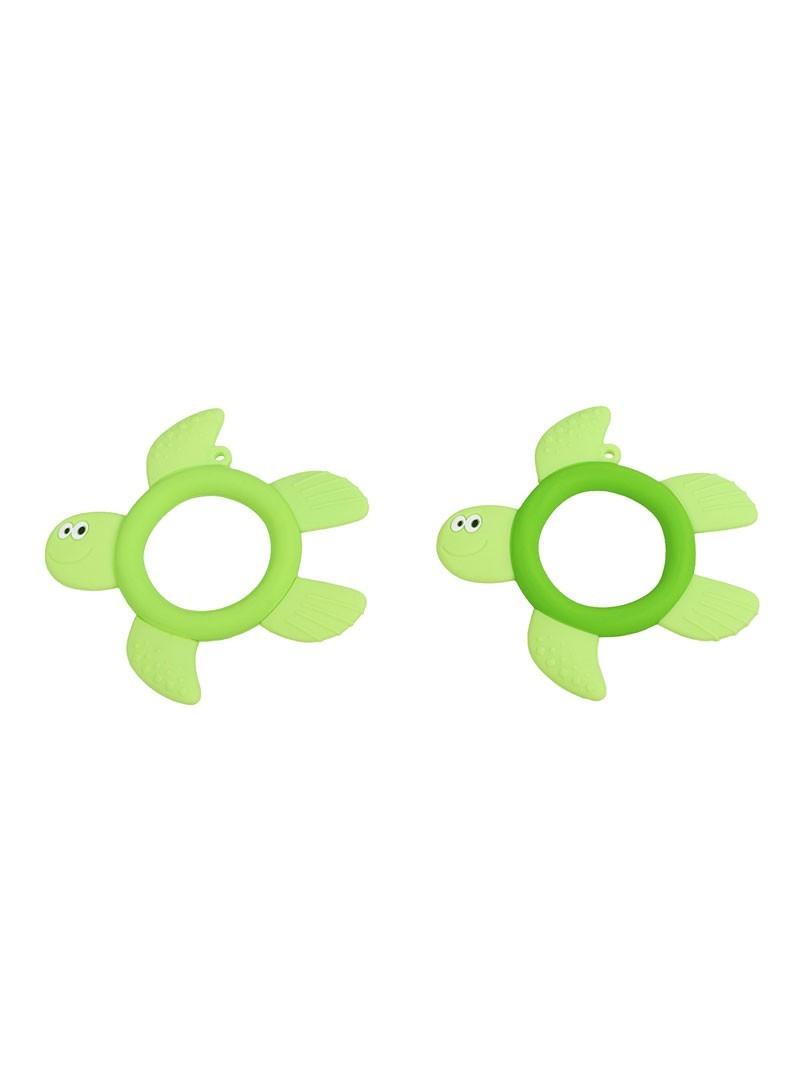液态硅胶-绿色小乌龟牙胶产品