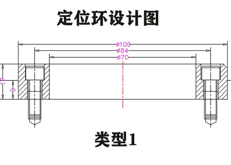 注塑模具加工厂定位环设计