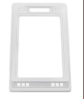 注塑加工-显示器面盖注塑件