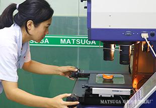东莞市马驰科立式包胶模具加工尺寸测量
